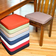 dining chair cushions with wide ties velcro seat additial nz pads