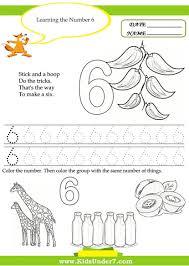 free printable traceable numbers worksheet for kindergarten number