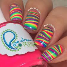 Nail Art Nail Polish Designs Best 25 Rainbow Nail Art Ideas On Pinterest Rainbow Nail Art