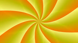 abstract bright orange yellow background loop motion background