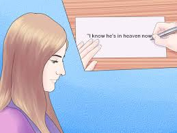 Signing A Business Letter by 3 Ways To Sign A Sympathy Card Wikihow