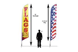 Feather Flag Pole Parking Feather Flag Flagnations