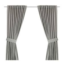 Washing Curtains With Backing Ingert Curtains With Tie Backs 1 Pair Ikea
