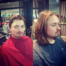 saturday u0027s best transformation men hair razor cut happy