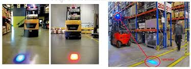 blue warning lights on forklifts forklift safety products and signs