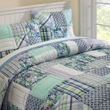 Patchwork Comforter Boho Patchwork Quilt Sham Pbteen
