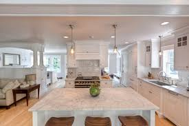 carrara marble kitchen island carrara kitchens traditional kitchen new york by fordham