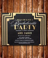 Gatsby Invitations 39 Great Gatsby Party Invitations Card For Young Wonderful Black