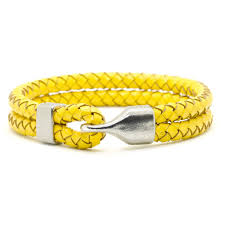 yellow bracelet images Leather bracelet yellow who 39 s lookin 39 design jpg