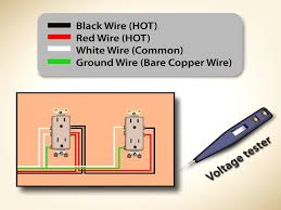 component household wiring colors electrical residential house