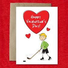 hockey valentines cards hockey cards saucy mitts saucy mitts hockey