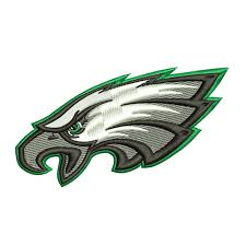 philadelphia eagles embroidery design instant