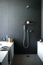 black tiles in small bathroom tags black tile in bathroom idea