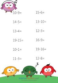 59 best subtraction practice worksheets images on pinterest cool