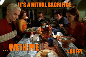 ya outside the lines it s ritual sacrifice with pie