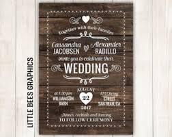 sle wedding programs templates free free rustic wedding invitation templates theruntime