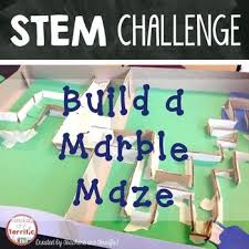 Challenge Science Stem Maze Challenge Marble Maze Stem Activities And Destination