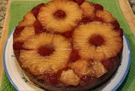 pineapple upside down cake inside nanabread u0027s head
