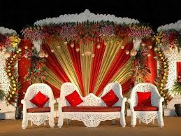 Wedding Table Decorations Ideas Stunning Red And White Wedding Stage Decoration 50 In Wedding