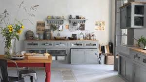cuisine style brocante deco cuisine cagne chic kitchen rustic gray kitchens and