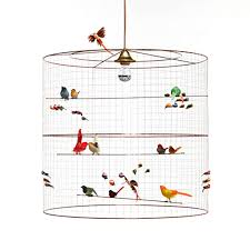 how to make a birdcage chandelier copper bird cage chandelier by i love retro notonthehighstreet com