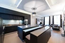 cuisine ouverte ilot central photo de cuisine ouverte avec ilot central 004 4 lzzy co