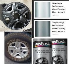 spray paint wheel color options tacoma world