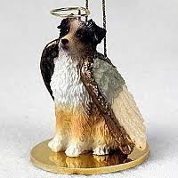 australian shepherd ornament angel dogs