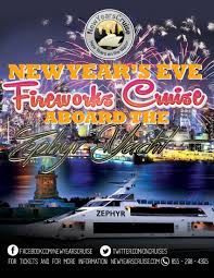 new year s fireworks cruise the zephyr yacht new york