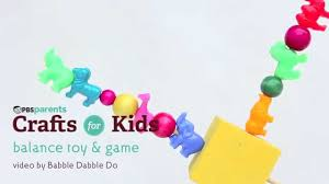 diy balance toy u0026 game crafts for kids pbs parents youtube