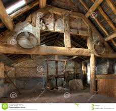Timber Frame Home Interiors Oast House Herefordshire Stock Photo Image Of Barn 35394212