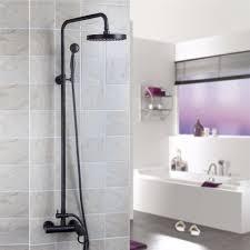 popular shower faucet bronze buy cheap shower faucet bronze lots oil rubbed bronze bath shower faucet wall mounted bronze brass bathroom rain shower set classic shower