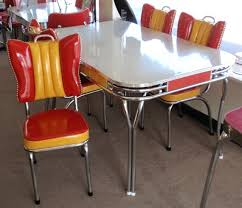 Retro Red Kitchen Chairs - 230 best old dinette sets images on pinterest retro kitchens