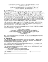 writing recommendation letter medical cover letter sample
