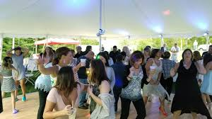 wedding dj for backyard reception in killingworth ct ct wedding