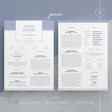 abby resume cv template word photoshop indesign our design u0027abby