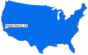 santa california map santa california city information epodunk