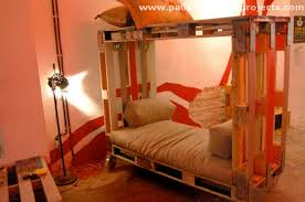 Wood Bunk Bed Plans Pallet Bunk Bed Projects Pallet Wood Projects