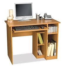 Computer Desk Amazon by Amazon Com Computer Workstation W Desk U0026 Open Cubbies Basic