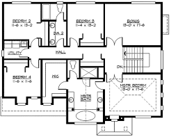 family home floor plans plan 23418jd large family home plan with options tray ceilings