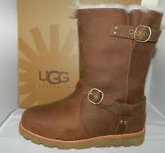 s ugg australia noira boots usa nib nwb ugg australia noira waterproof boot acorn 1001733 sz