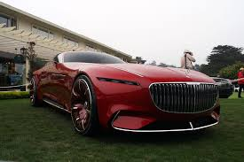 mercedes maybach vision mercedes maybach 6 concept unveiled at pebble beach