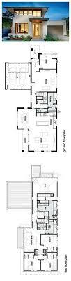 modern floor plans for homes modern style house plan 4 beds 2 50 baths 3584 sq ft plan 496 18
