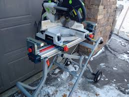 bosch gravity rise table saw stand has anybody mounted the kapex with the bosch gravity rise saw stand