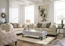 contemporary queen sofa sleeper in linen