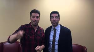 drew and jonathan scott appearing at the cleveland home