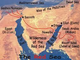 Gulf Of Aqaba Map Ark Of The Covenant Ron Wyatt