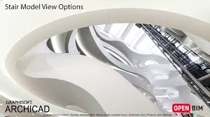 Stair Options by Archicad 21 Stair Model View Options Youtube