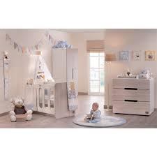chambre à coucher bébé pas cher chambre aspen bois avec lit évolutif 60x120 plexiglas noukie s