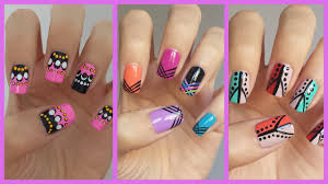Easy Nail Art For Beginners  JennyClaireFox YouTube - At home nail art designs for beginners